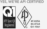 Veristic is API Certified in 4F, 8C, and Q1